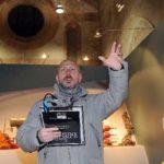 Udine 3 Febbraio 2012. Arteventi. Visita teatralizzata dedicata ad Ardito Desio alla chiesa di San Francesco. Telefoto Copyright Foto PFP